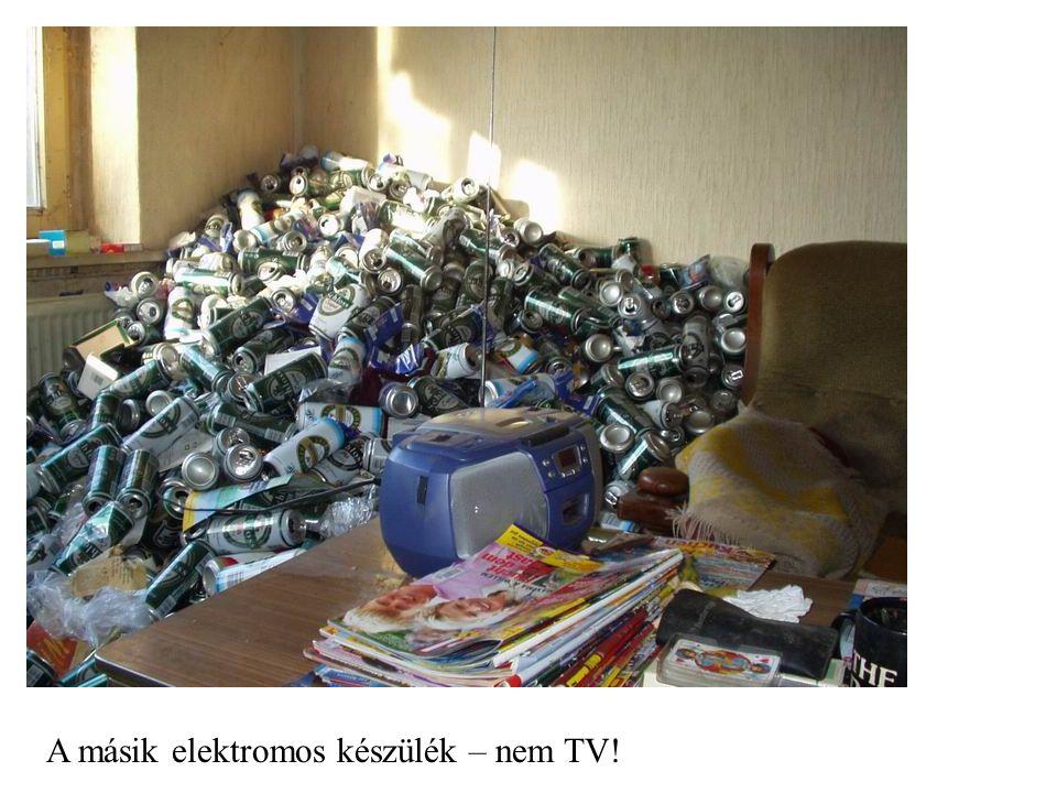 A másik elektromos készülék – nem TV!