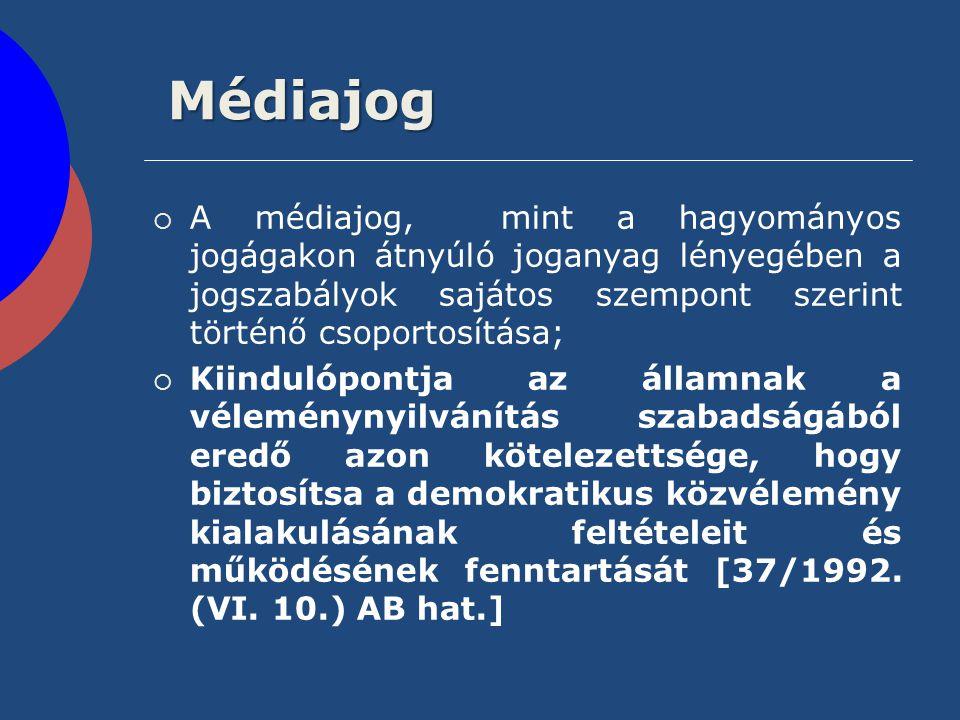 Jogtudatosítás A jogtudatosítás a médiába – az országgyűlési biztos OBH 2057/2008.