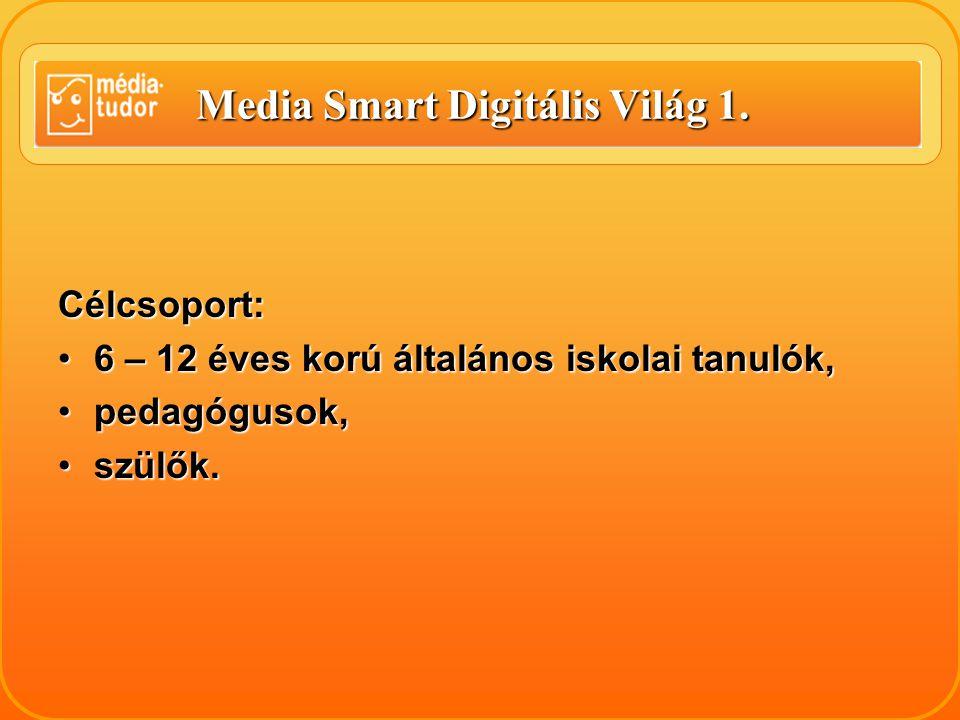 Media Smart Digitális Világ 1.Az oktatási anyag 14 leckéből áll.