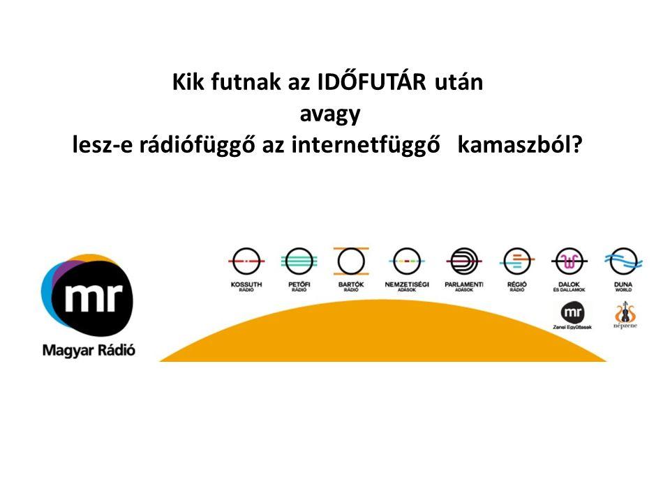 Kik futnak az IDŐFUTÁR után avagy lesz-e rádiófüggő az internetfüggő kamaszból?