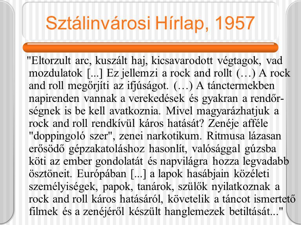 Sztálinvárosi Hírlap, 1957