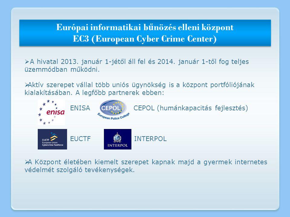  A hivatal 2013. január 1-jétől áll fel és 2014. január 1-től fog teljes üzemmódban működni.  Aktív szerepet vállal több uniós ügynökség is a közpon