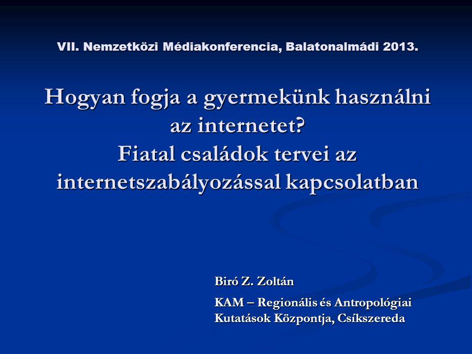 VII. Nemzetközi Médiakonferencia, Balatonalmádi 2013.