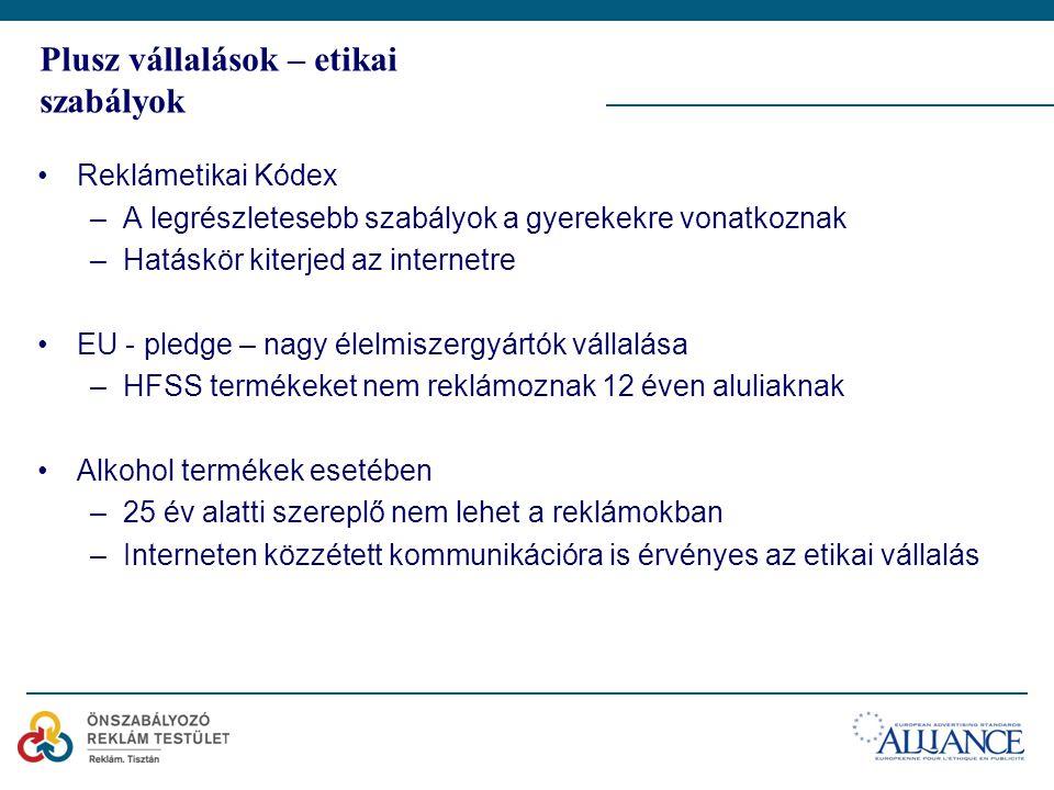 Monitoring eredmények ÖRT tevékenysége: –Előzetes véleménykérés (gyerek témában gyakori) –Panaszkezelés – nem gyakori panasz –Monitoring – társszabályozás keretében 2012.