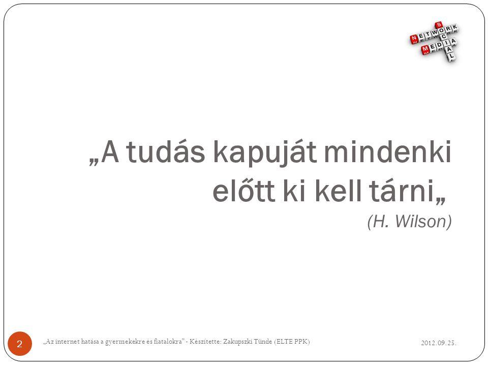 Iskola falak nélkül?.2012.09.25.