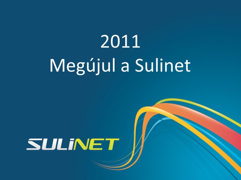 Sulinet történelem 1998 2001 2004 2007 2010 SDT 2011 Megújul a Sulinet