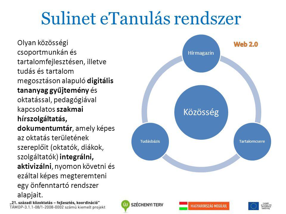Olyan közösségi csoportmunkán és tartalomfejlesztésen, illetve tudás és tartalom megosztáson alapuló digitális tananyag gyűjtemény és oktatással, peda