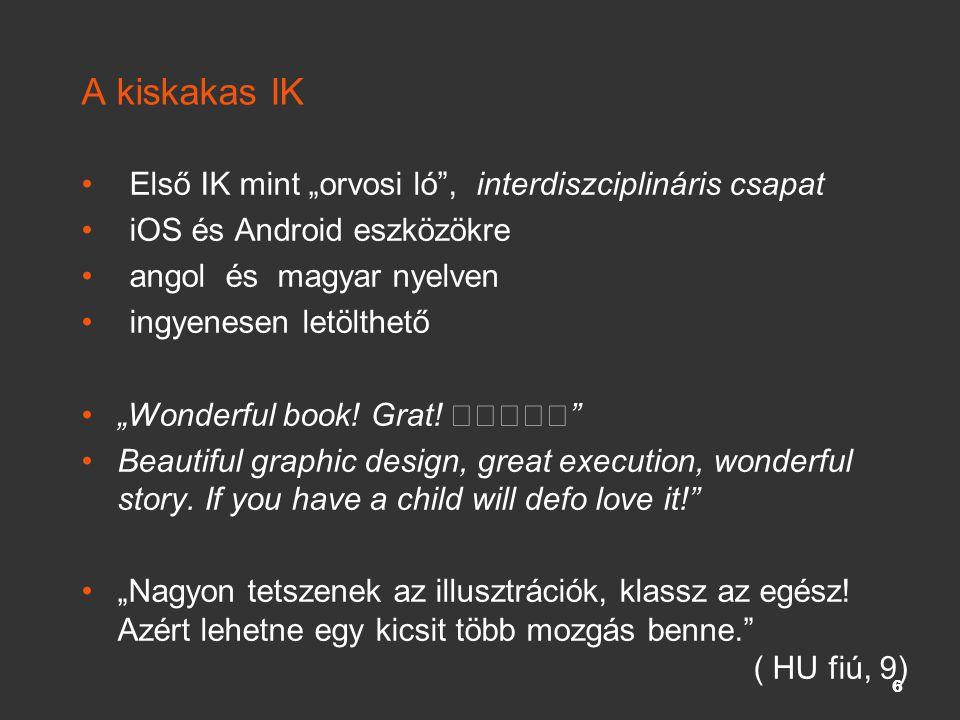 """A kiskakas IK Első IK mint """"orvosi ló"""", interdiszciplináris csapat iOS és Android eszközökre angol és magyar nyelven ingyenesen letölthető """"Wonderful"""