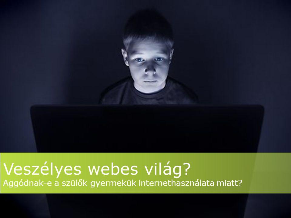 Veszélyes webes világ? Aggódnak-e a szülők gyermekük internethasználata miatt?