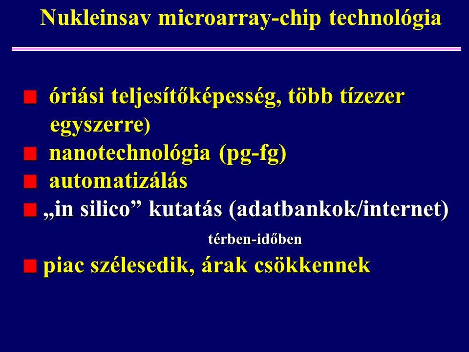 óriási teljesítőképesség, több tízezer óriási teljesítőképesség, több tízezer egyszerre egyszerre ) nanotechnológia (pg-fg) nanotechnológia (pg-fg) au