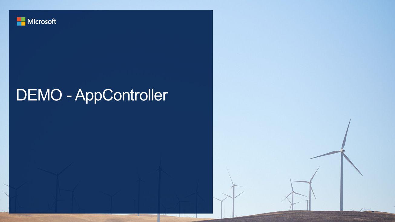 DEMO - AppController