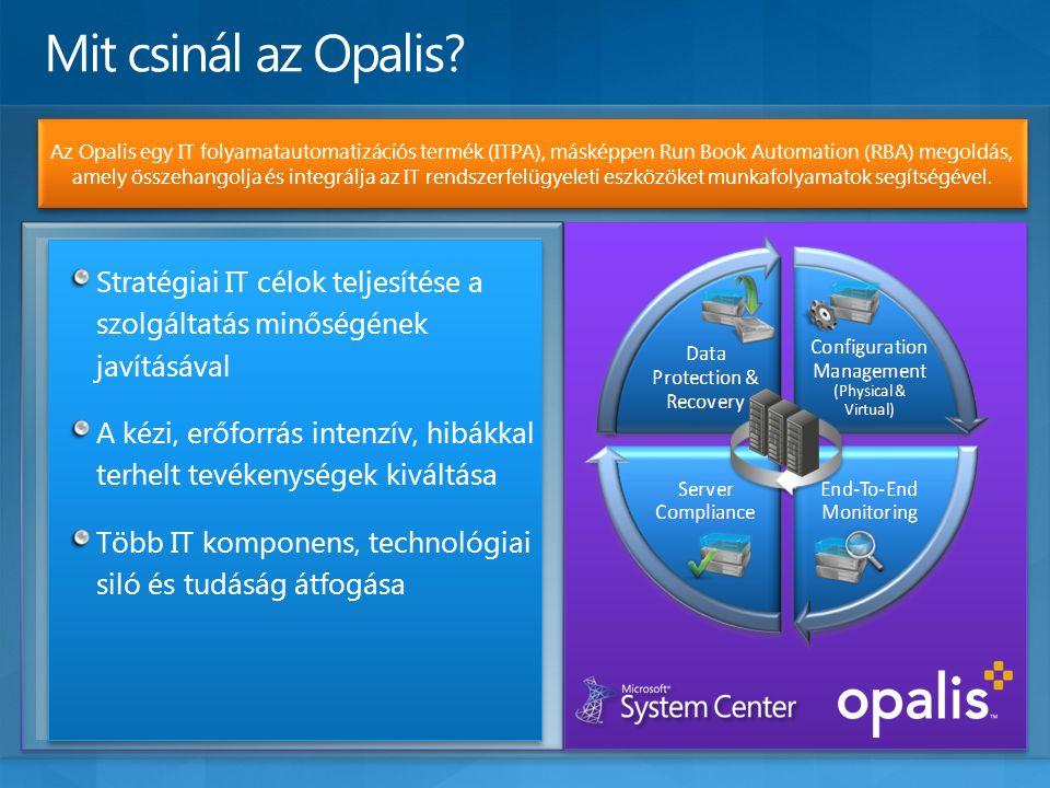 Az Opalis egy IT folyamatautomatizációs termék (ITPA), másképpen Run Book Automation (RBA) megoldás, amely összehangolja és integrálja az IT rendszerf