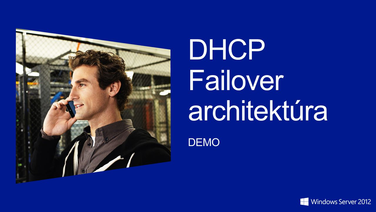 DHCP Failover architektúra DEMO