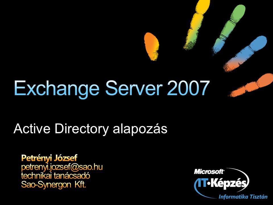 Active Directory alapozás