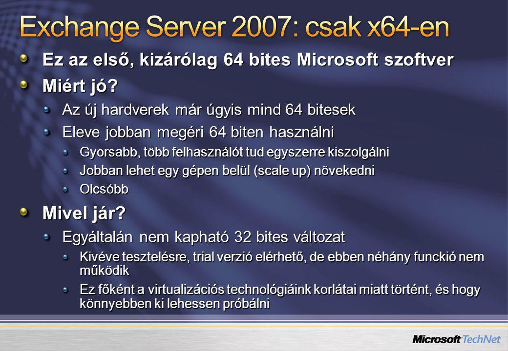 Ez az első, kizárólag 64 bites Microsoft szoftver Miért jó.