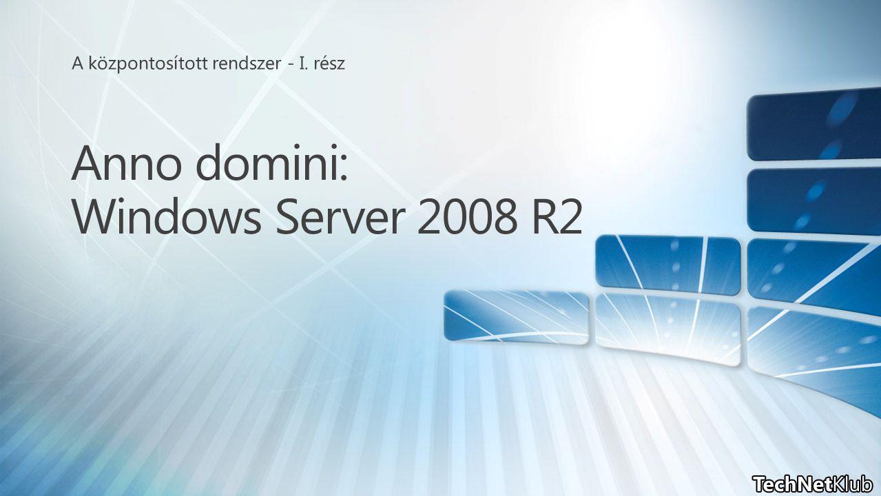 Anno domini: Windows Server 2008 R2