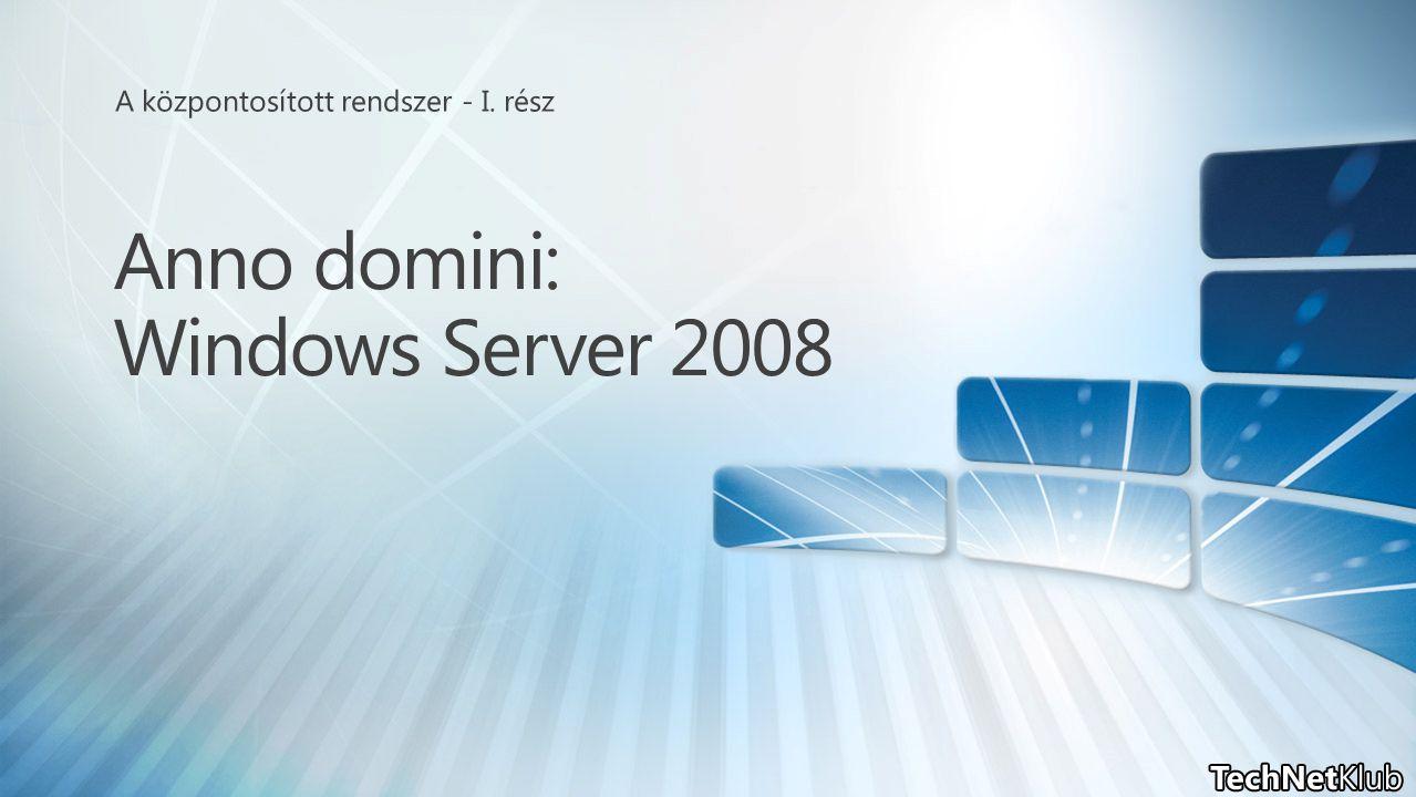 Anno domini: Windows Server 2008