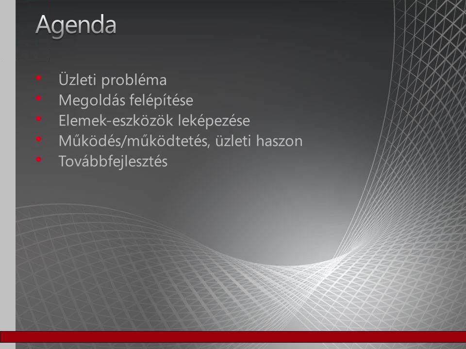 Telefonszámla Telefonszámla Informatikai szolgáltatások költséghelyenkénti lebontása Informatikai szolgáltatások költséghelyenkénti lebontása − E-mail − Fájl szerver − Adatbázis Különböző összefüggések statisztikák Különböző összefüggések statisztikák Duplikátumok szűrése Duplikátumok szűrése Korábban kipróbált megoldások Korábban kipróbált megoldások − Symantec filescanner − egyedi fejlesztés