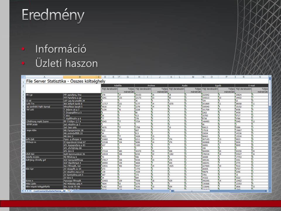 Excel pivot Excel pivot További adatforrások További adatforrások