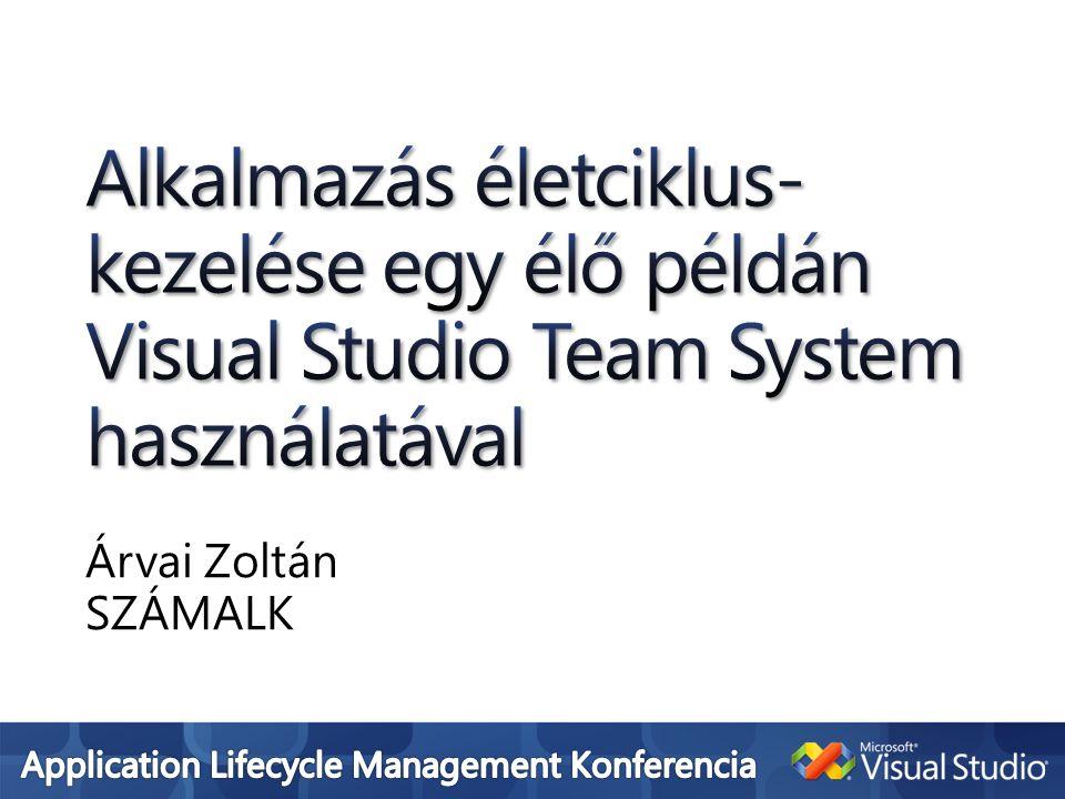 Árvai Zoltán SZÁMALK