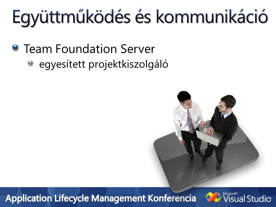 Team Foundation Server egyesített projektkiszolgáló