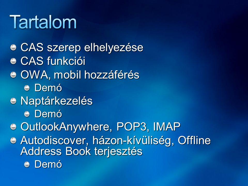 2 2 RPC 3 3 HTTPS IMAP4 POP3 HTTPS IMAP4 POP3 SMTP 4 4 1 1 Hub Transport Mailbox Server Mailbox Server Domain Controller Domain Controller Client Access Server Client Access Server