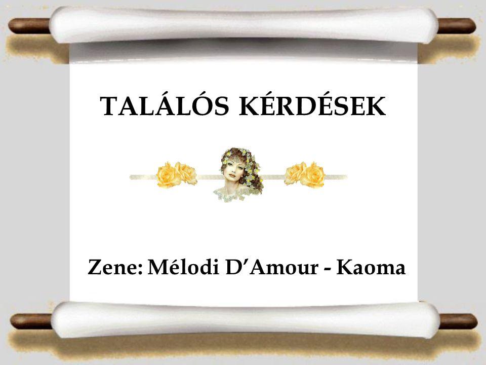 TALÁLÓS KÉRDÉSEK Zene: Mélodi D'Amour - Kaoma