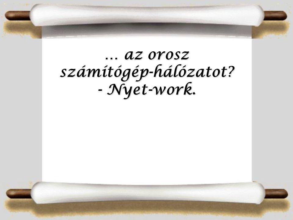 … Szent István szellemét - Vajkrém.