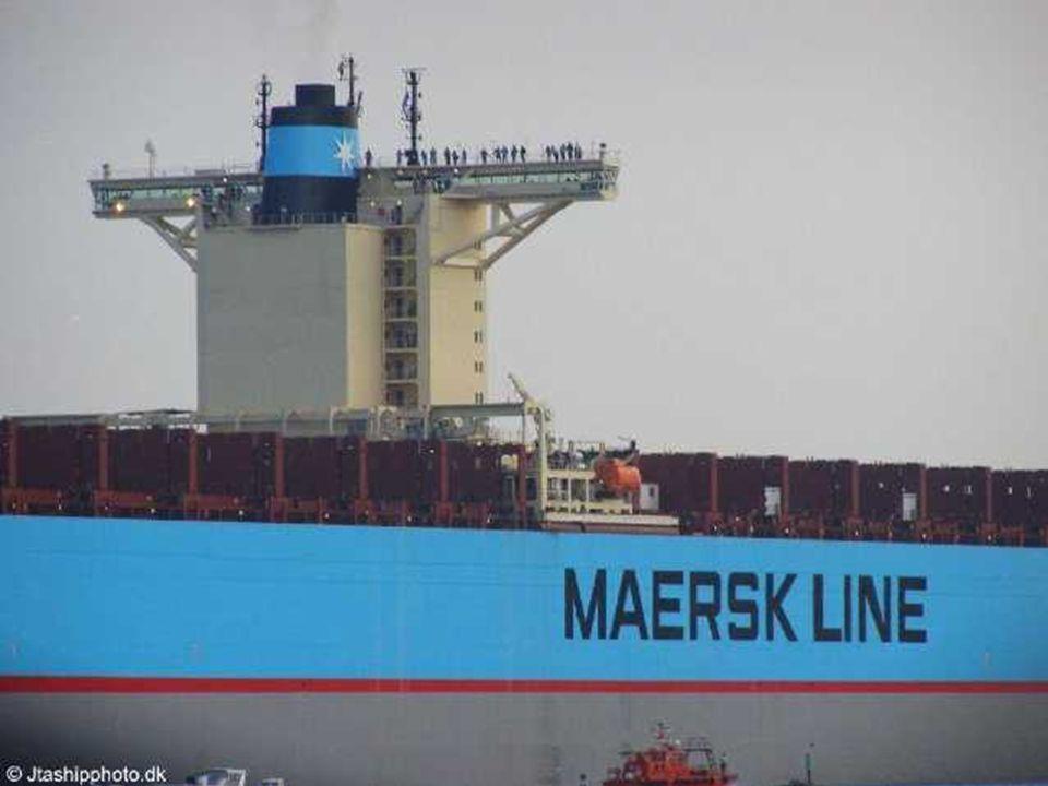A dán Odense Steel hajógyár konstrukcióját 2006. augusztus 16-án avatták, tulajdonosa az A.P. Moller-Maesk Csoport