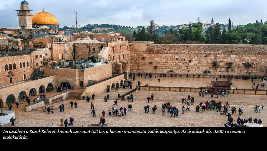 Jerikó alapjait i.e.9000 körül rakták le.