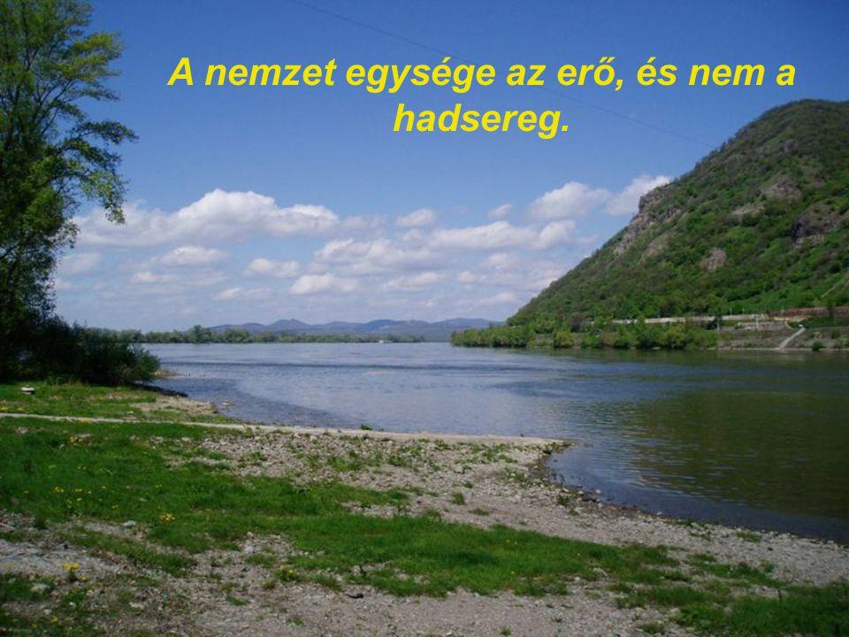 A magyarság nem a test, nem a vér, hanem a lélek kérdése.