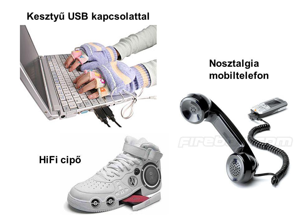 Kesztyű USB kapcsolattal HiFi cipő Nosztalgia mobiltelefon