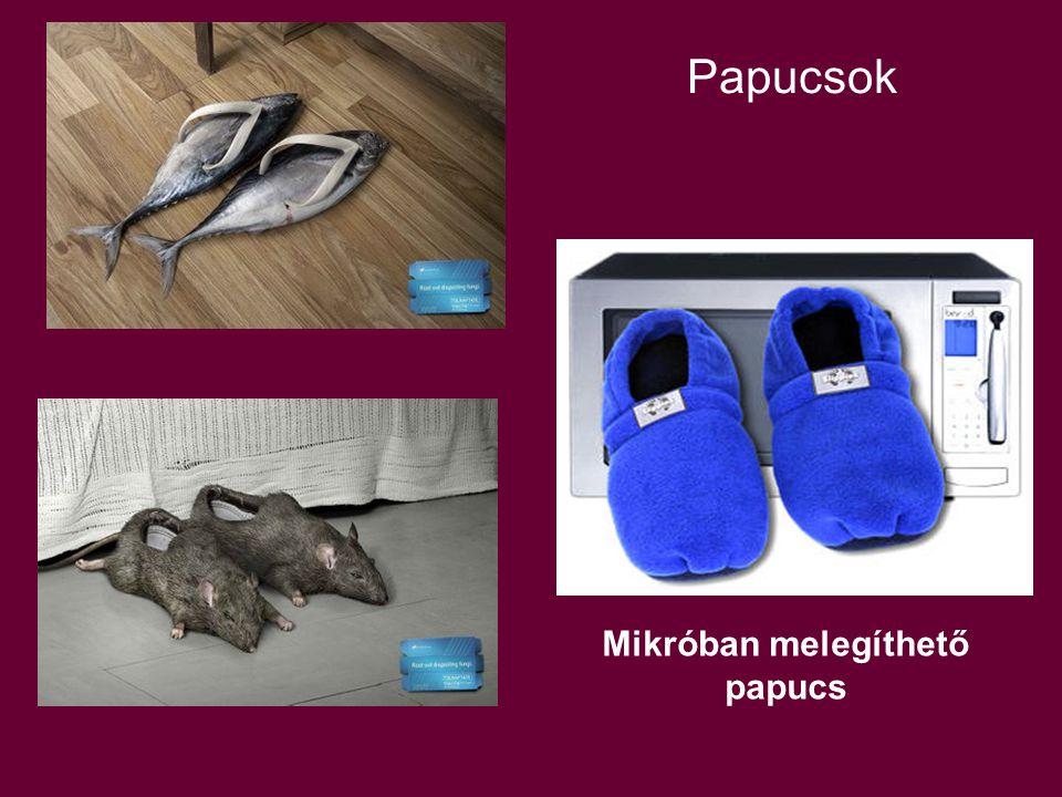 Papucsok Mikróban melegíthető papucs