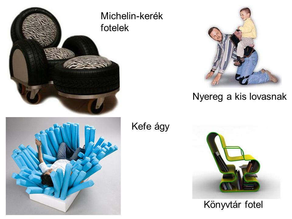 Nyereg a kis lovasnak Könyvtár fotel Michelin-kerék fotelek Kefe ágy