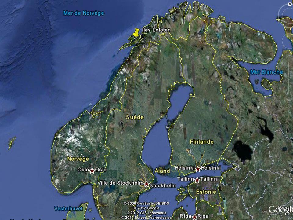LOFOTEN SZIGETEK Lofoten egy szigetcsoport és hagyományos régió Norvégia északi részén, Nordland megyében. Bár a sarkkörön belül fekszik, olyan meleg