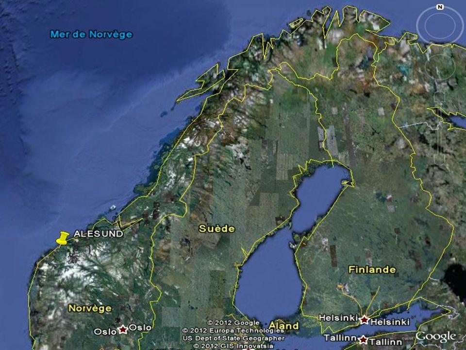 ALESUND Ålesund kiköt ő város Norvégia középnyugati Vestlandet földrajzi régiójában, Møre og Romsdal megye Sunnmøre területén. A város els ő sorban sz