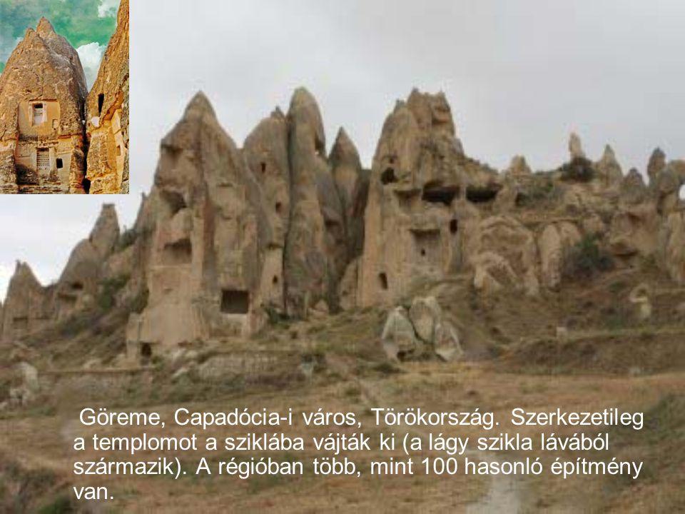Rusztikus templom a Kalemegdan vár mellett, Belgrád-ban található, Szerbia. Ez egy kis kápolna. Ezt a helyet a törökök l ő por-raktárnak használták tö