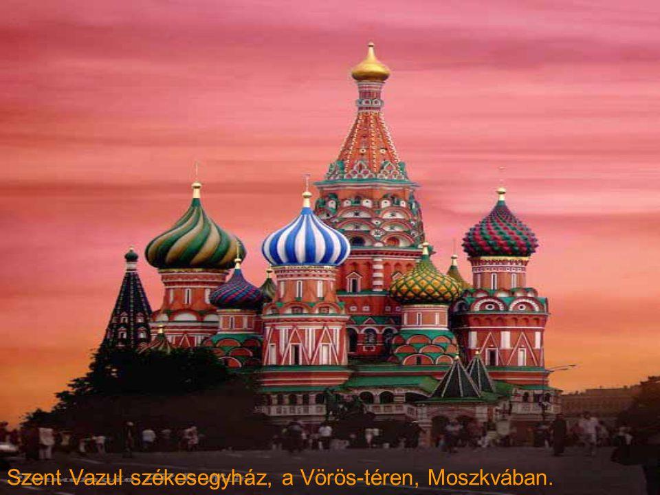 Számos templom volt ebben a bemutatóban.