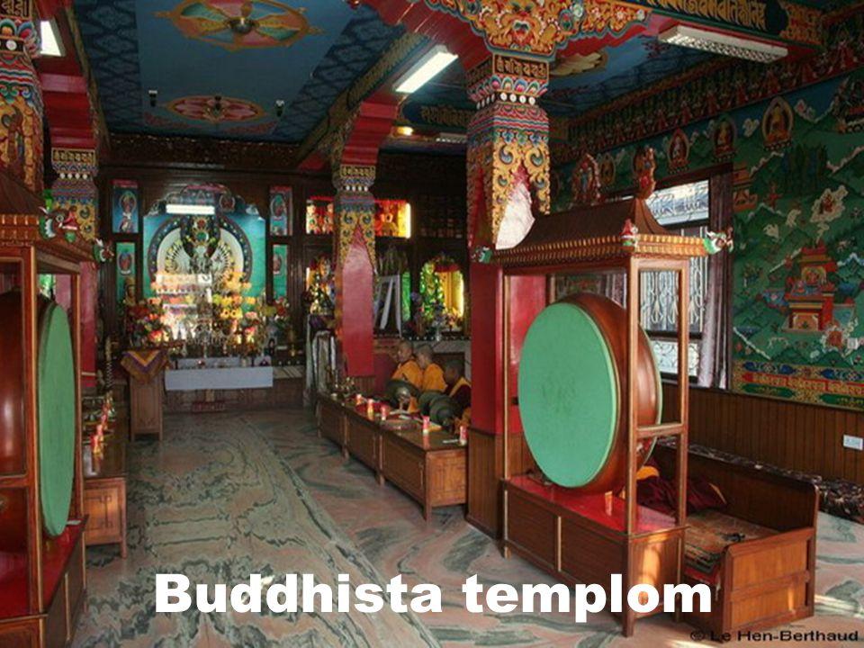 Buddhizmus  325 millió hívő  A világ népességének 7,7 %  Gyakorolják:  Sri Lanka  Délkelet - Ázsia  Tibet