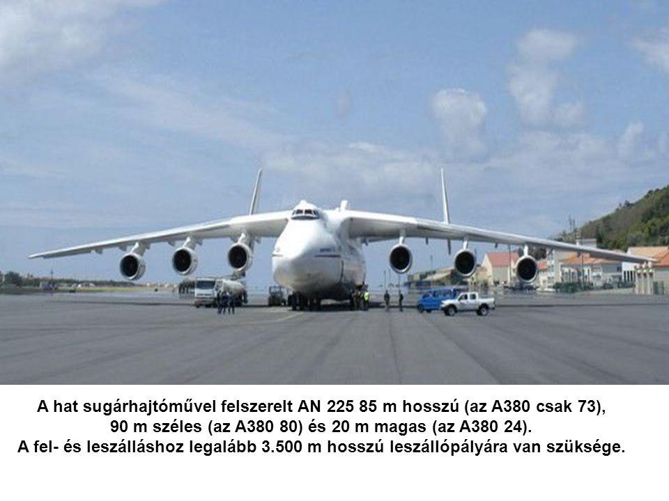 A repülőgépet az Antonov Airlines ukrán légitársaság üzemelteti eseti cargo- szállítmányok célba juttatására. 250 tonna hasznos terhet képes szállítan