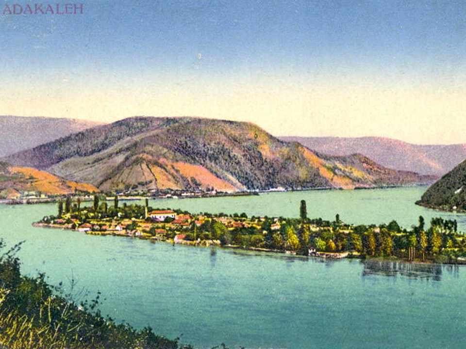 Ada-Kaleh képeslapokon: