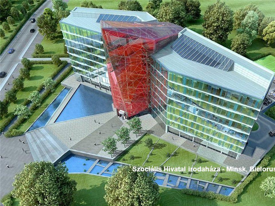 Szociális Hivatal irodaháza - Minsk, Bielorusia
