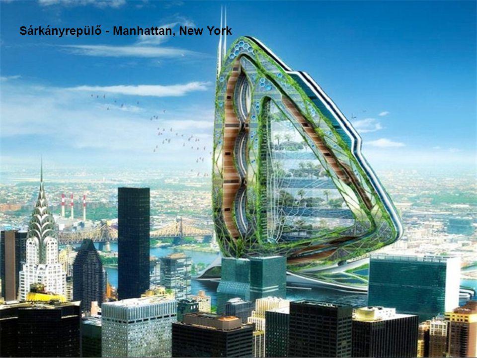 Sárkányrepülő - Manhattan, New York