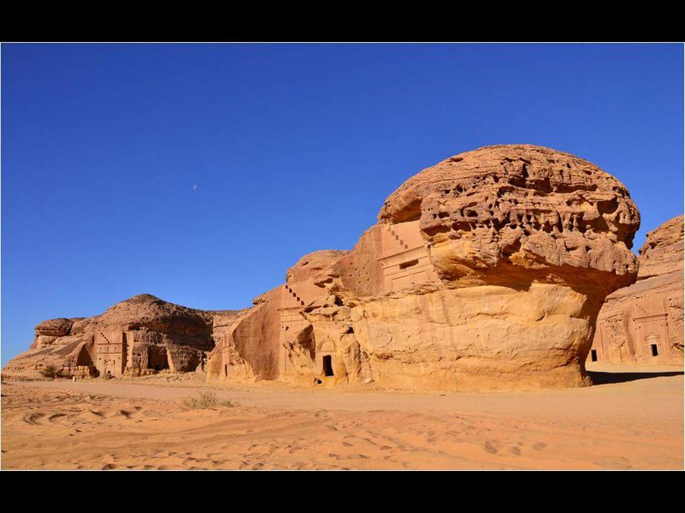 Mada in Saleh a neve e régészeti maradványoknak Szaúd-Arábiában.