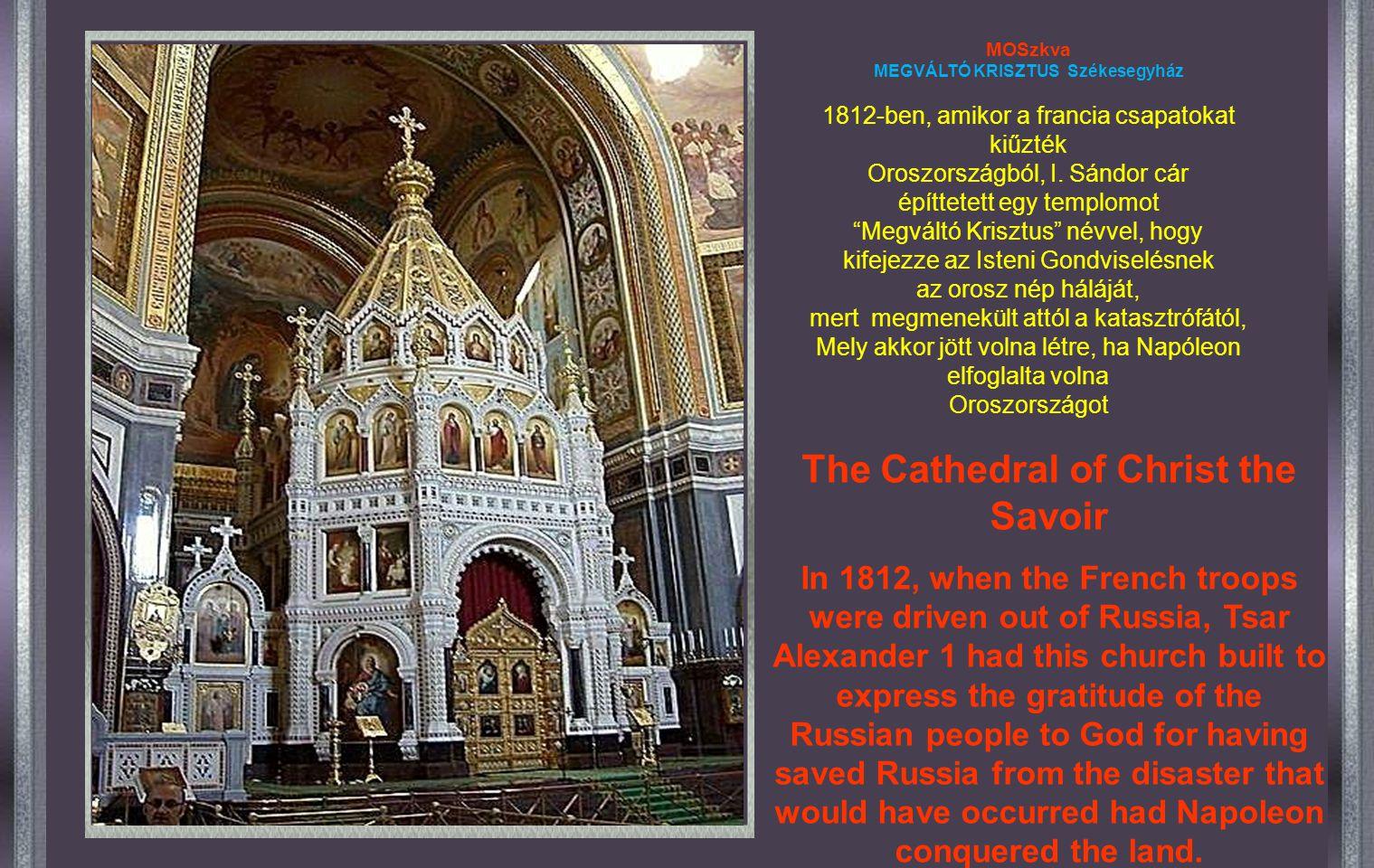 """Általában inkább Szent Bazil Székesegyház néven ismerik, Az igazi neve: """"Isten Anyja Közbenjárás"""" Székesegyház It is generally known as: """"The Saint Ba"""