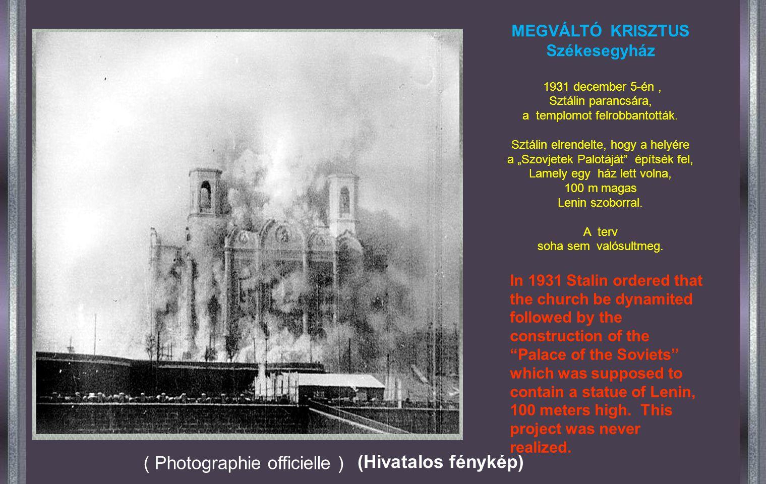 Az építkezés 44 évig tartott,, 1883. május 20-án, II. Sánor cár koronázásának napján, nyitotta meg kapuit a szertartásoknak. Construction took 44 year