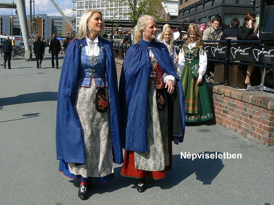 Bergen. Európa egyik legnagyobb kikötője