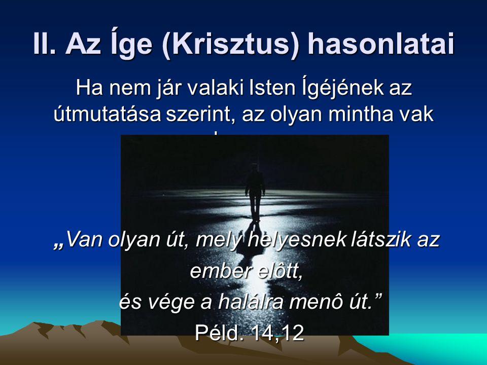Az Íge (Krisztus) hasonlatai Kard Tej Ajtó