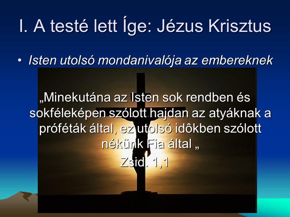 II. Az Íge (Krisztus) hasonlatai
