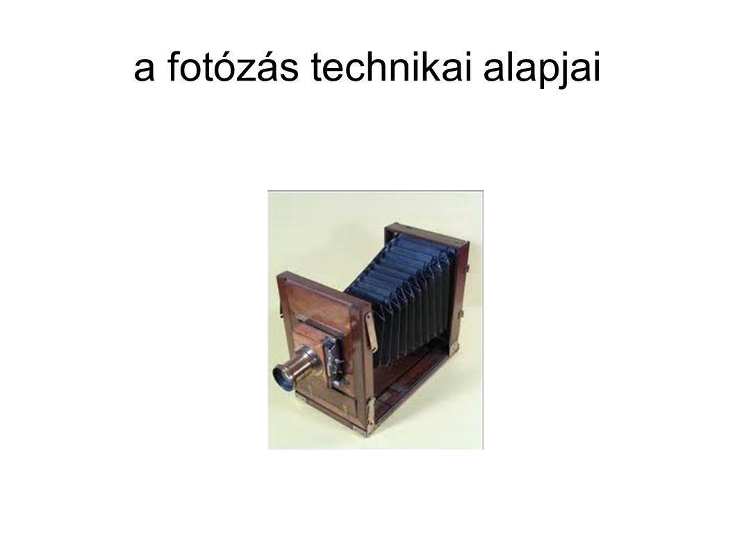 a fotózás technikai alapjai